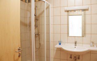 Lunzer Badezimmer Ferienwohnung Weinblüte