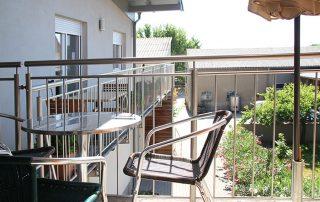 Lunzer Balkon Ferienwohnung Weinknospe